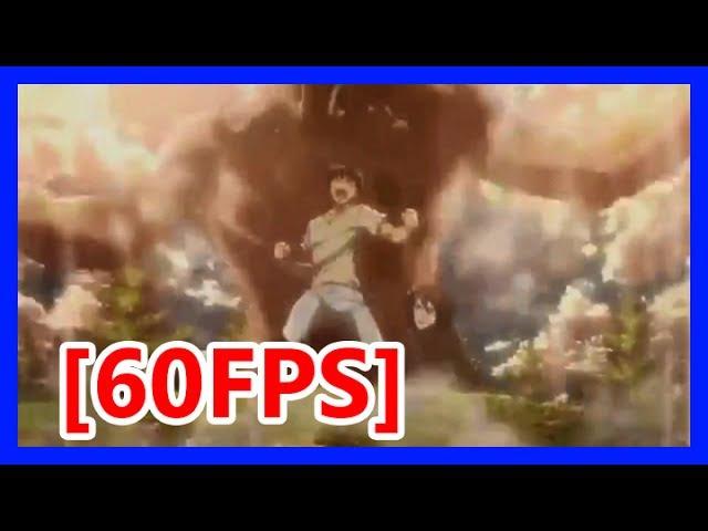 Mikasa confesses to Eren/Eren controls titans - Attack on Titan season 2 episode 12 eng sub 60fps