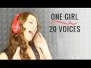 Singers Impressions - 1 Girl 20 Voices - Imitazioni Cantanti