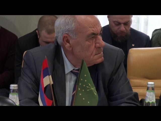 В Общественной Палате РФ прошел круглый стол, посвященный Русско-Кавказской ини...