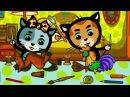 Котяткины истории 2 (Береги игрушки) - Мультик для малышей - Три котенка