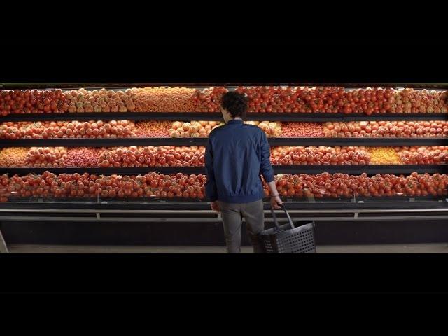 Правильное питание и любовь в рекламе французской сети супермаркетов Intermarche | Eco-Store