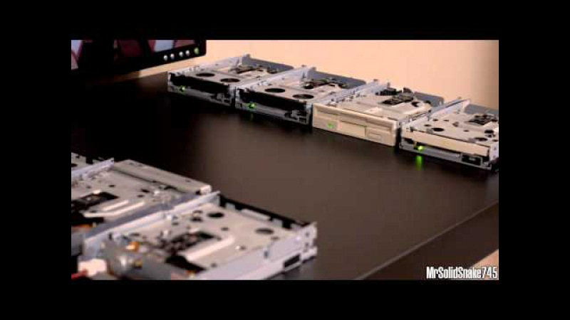 Cowboy Bebop - Tank! on Eight Floppy Drives