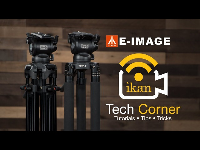 Comparing the EG03TT and EG03A2 E-Image Tripods | Ikan Tech Corner
