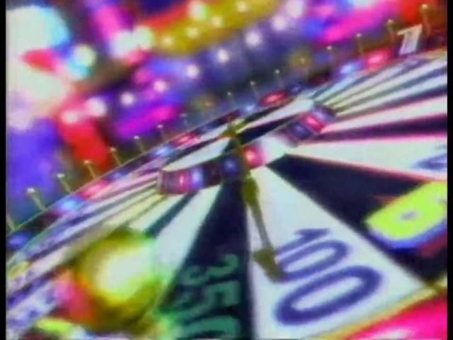 Заставка программы Поле чудес ОРТ 29 12 2000 30 11 2001