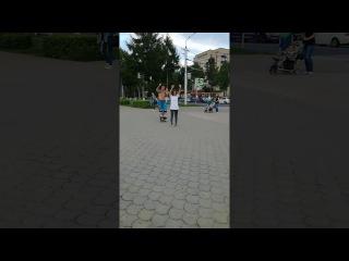 Джамперы в г.Альметьевск второй зачётный прыжок