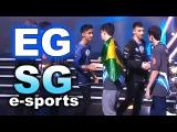 EG vs SG e-sports Brazil - KIEV MAJOR EPIC! LEGENDARY DOTA 2