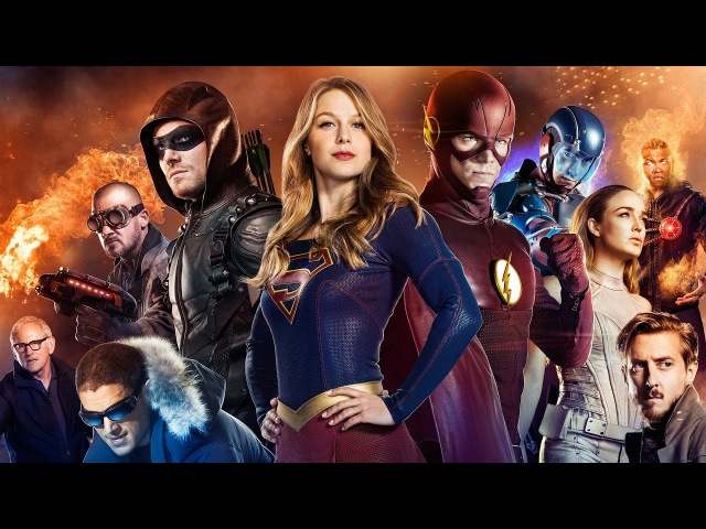 DC's LOT, The Flash, Arrow and Supergirl - Superhero (Simon Curtis)