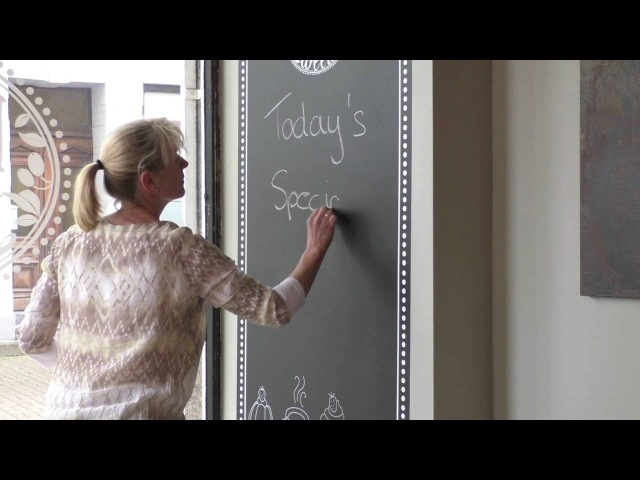 Neschen easy dot chalkboard black
