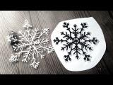 Снежинка 3д ручкой (мастер-класс по рисованию 3D ручкой)