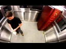 Розыгрыш Гроб в лифте