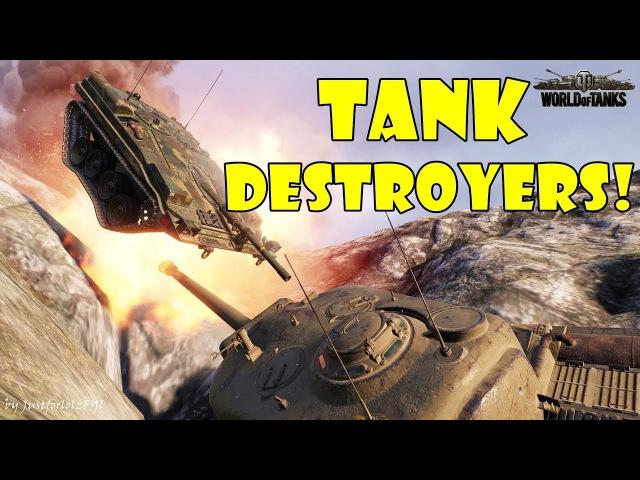 World of Tanks - Funny Moments | TANK DESTROYER MAYHEM!