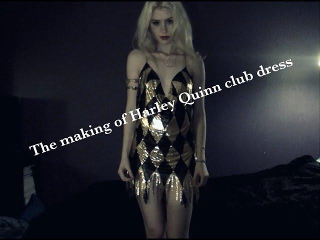 Ebbi Cosplay ♡ The making of Harley Quinn club dress