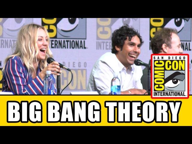 Теория большого взрыва | The Big Bang Theory | Comic-Con панель сериала
