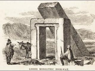 Иллюстрации руин цивилизации Инков из книги 1877 года.