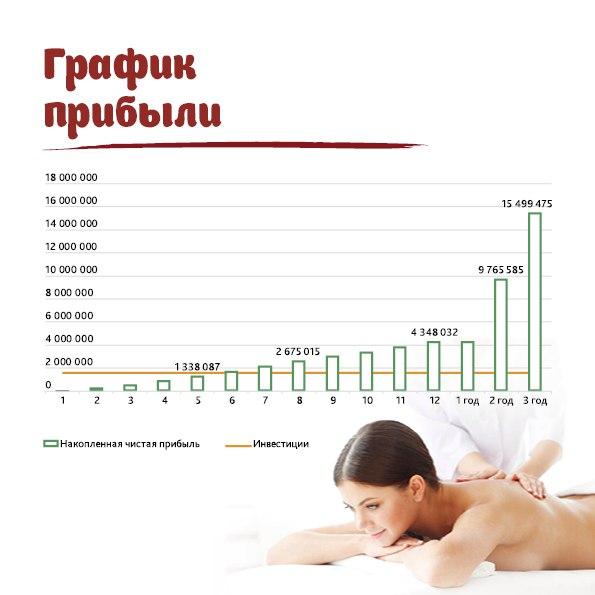 финансовый расчёт вита-спа
