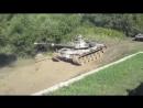 Испытание Т 90 на проходимость грязь vs танк!