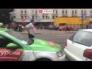 Прямая трансляция массовой аварии на проспекте Энгельса в Питере