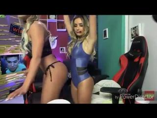 Aline Mineiro, Carol Dias e Babi Muniz no Pnico na TV Brasil
