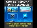 IATA CUM ESTI SPIONAT PRIN TELEVIZOR