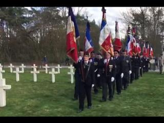 Во Франции простились c неизвестным русским солдатом