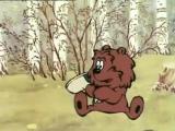 Мультик. Медвежонок и ежик встречают весну :)
