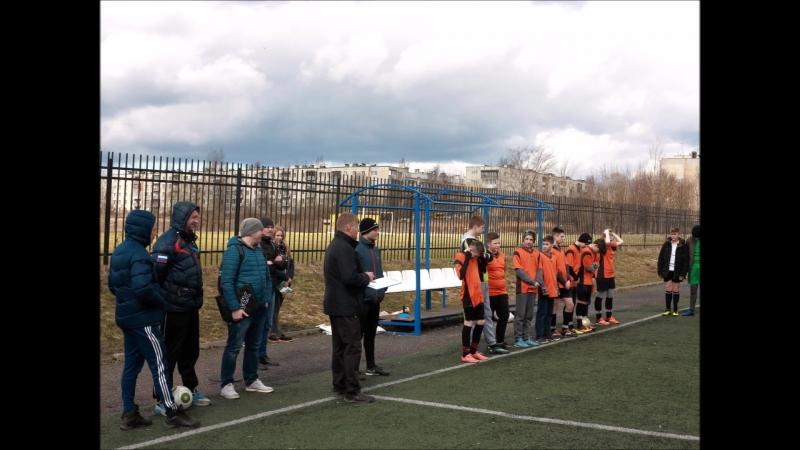 Футбол МОУ СОШ РЦО май 2017 г.