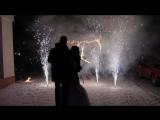 очень красивая зимняя свадьба Насти и Даниила