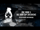 5. Eric Moore II interview and DW drum solo @ Bag Show 2014 (Русский перевод)