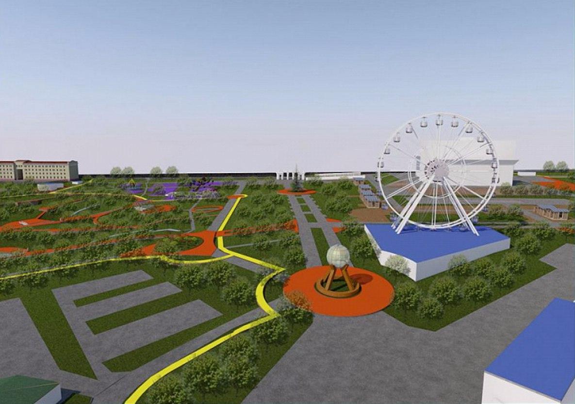 Хабаровский парк «Динамо» изменит облик к ноябрю