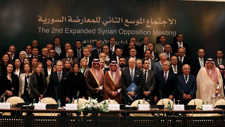 Les Echos: съезд оппозиции в Эр-Рияде развеял надежды Путина на скорый мир в Сирии
