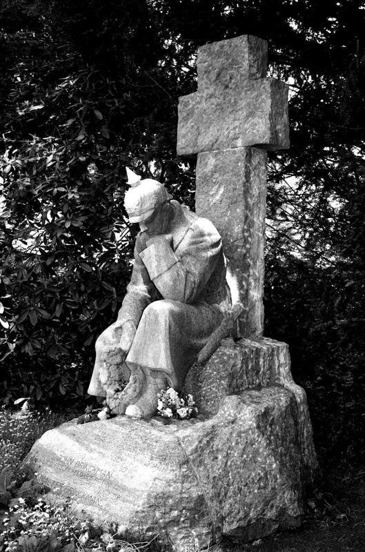 Германия. Кладбище Ольсдорф.