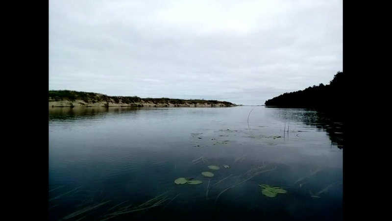 Сплав по реке Rinda - Irbe - в Балтийское море2