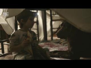 Мальчик и его собака по имени Даг