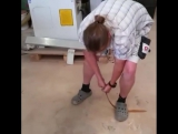 Bodnik Bows - Extreme bending test of the #Mohawk limbs at Bearpaw