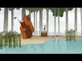 The Flies - funny cartoons __ Log Jam series