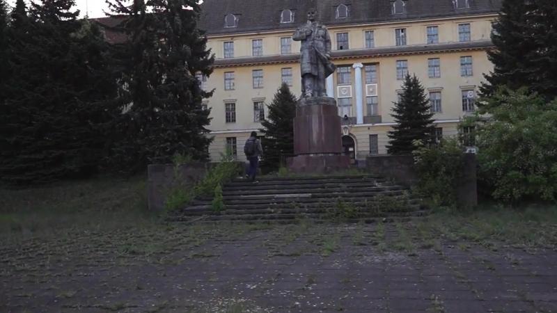 Вюнсдорф Wünsdorf Дом офицеров весна 2017
