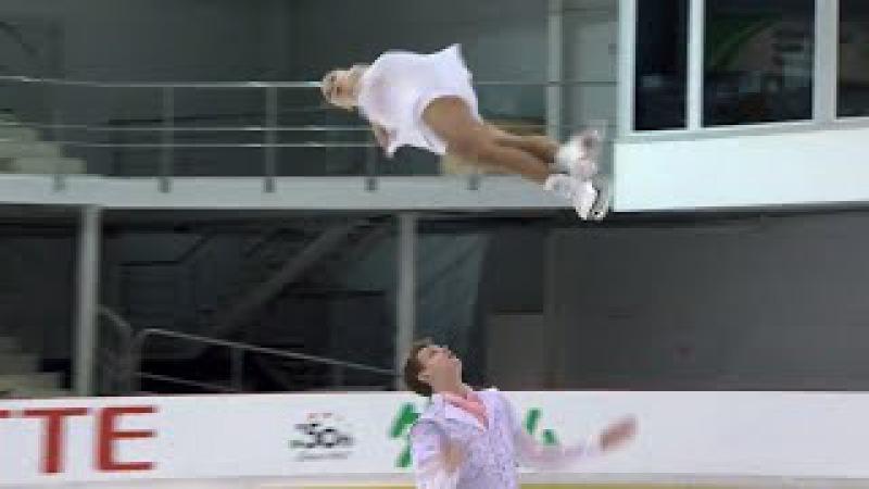 Aleksandra BOIKOVA / Dmitrii KOZLOVSKII RUS - Riga - Pairs Free Skate - ISU -JGP 2017