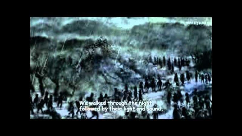 Video em anime sobre a historia dos alunos de Himeyuri, na época da guerra no Japão