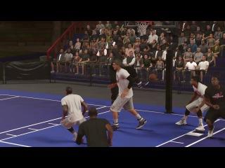 DUNK/BLOCK in NBA 2K17