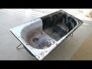 Ванна космос Реставрация старой ванны своими руками