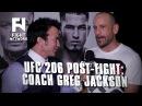 UFC 206: Greg Jackson on Successful Night for Swanson, Cerrone and Vannata