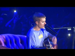 JUSTIN BIEBER - COLD WATER ♪ LIVE IN PARIS @ ACCORHOTELS ARENA 2016.09.21 by Nowayfarer 🎸 ᴴᴰ