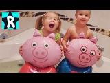 Свинка Пеппа Играем В ВАННОЙ Peppa Pig Видео для Детей и Малышей про Игрушки Свинка Пеппа