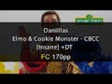 osu!  Elmo and Cookie Monster - Cookie-Butter-Choco-Cookie [Insane] + DT FC 170 pp