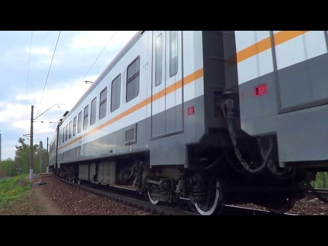 Перегонка электропоезда ЭП2Д-0008 ЦППК на Курский вокзал!