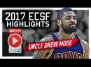 Kyrie Irving ECSF Offense Highlights VS Raptors 2017 Playoffs - SHADES of 2016 Finals!