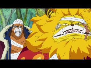 One Piece 773 серия [Озвучили: OVERLORDS Mutsuko Air Horie Marie Bibika Shoker] / Ван Пис