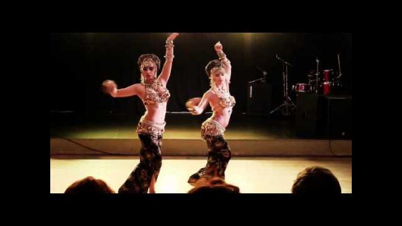Копия видео Tribal project Glow sisters Maria Kalinovskaya Kira Lebedeva @ Alice tribal party
