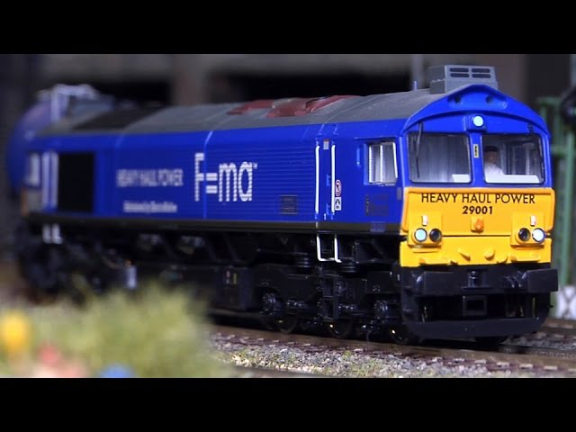 Large Model Railway Layout with Magnificent Cab Ride in HO Scale