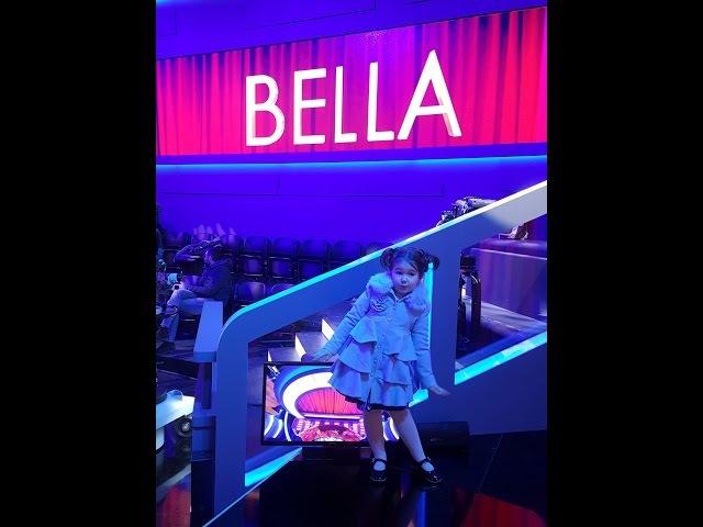 Белла на итальянском ТВ в 4 г 5мBella on Italian TV at 4y 5m